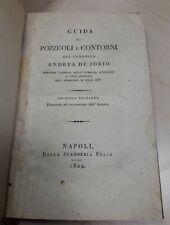 De Jorio GUIDA DI POZZUOLI 1822 Napoli storia locale arte Campania