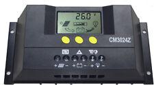 Controlador regulador de carga solar de 20 A 12 V/24 V Auto PV CM2024Z 20 Amp PWM