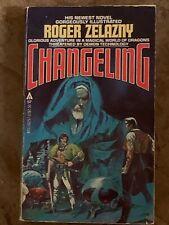 Changeling—Roger Zelazny 1980 Vintage!