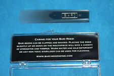 Bari Star Series Synthetic Tenor Sax Reed, Medium Strength, 3.0-3.5, BSTSM