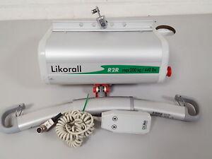 Likorall 242S R2R Altillo 200kg Paciente Elevador Discapacitados Torno Sanidad
