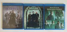 The Complete Matrix Trilogy (Blu-ray Disc, 2014, 3-Disc Set) Digipaks!