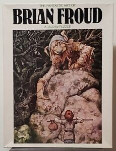 """Brian Froud Puzzle Asking the Way #6156 18"""" by 24"""" 551 pieces"""