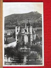 Fotokarte - Klosterkirche Haindorf / Hejnice - Isergebirge - gel 1944 Bahnpost
