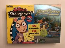 Arthur'S Kindergarten & Starflyers Cd Rom Games, Windows/Mac, 2002 Edition