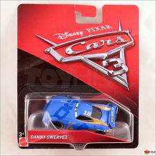Disney Pixar Cars 3 - Danny Swervez #19 Octain Gain racer - Mattel diecast car