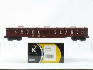 O Gauge 3-Rail K-Line K652-1393 RI Rock Island Covered Gondola #3871