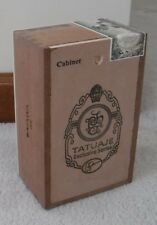 2 TATUAJE cabinet CIGAR BOXES,small-med.Ex.Cond. TAA exclusives fr.2014 & 2016