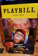 Michael Moore, The Terms Of My Surrender Playbill