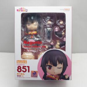 Nendoroid Konosuba 2 Megumin school Ver Action Figure Anime