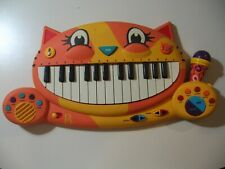 """19"""" Electronic Keyboard B Toys Meowsic with microphone, tested works great"""