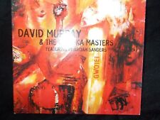 DAVID MURRAY & THE GWO-KA MASTERS - GWOTET - CANADIAN 8 TRK CD - LIKE NEW -JAZZ