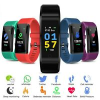 Smart Watch Waterproof Fitness Activity Tracker Bluetooth Android iOS