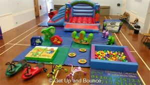 Dinosaur Commercial Soft Play Set 19 Piece - Ideal Bouncy Castle Add On