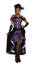 Dance Hall Mistress Costume Western Saloon Girl Cabaret  Adult Size Standard
