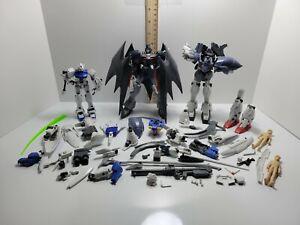 Large Bandai Gundam Model Kit Parts Lot - FOR PARTS, AS IS