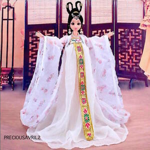 New Barbie Doll Clothes - Mulan Chinese Traditional Dress Evening Outfit