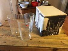 Nice Alvar Aalto Clear Glass Savoy Organic Vase by Iittala Finland – Boxed! –