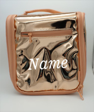 BNWT Studymate Insulated Top Handle Lunch Bag Tote Rose Gold Personalised