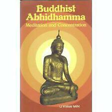 Buddhist Abhidhamma: Meditation and concentration