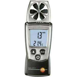 Anemometer testo 410-1 0.4 bis 20 m/s mit Etui