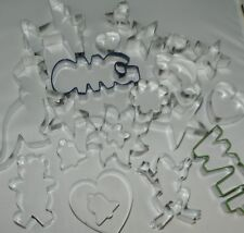 Cookie cutter Cake pastry Biscuit cutters over 40 to choose UK  seller