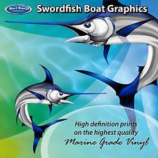 Swordfish Graphics - set of 280mm Boat Graphics