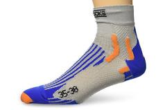 X-Socks calcetines speed metal azul/blanco talla 35/38