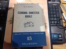 Modena - Economia Domestica Rurale - 1960 Vallecchi Collana dell' Agricoltore 15