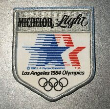 Vintage Michelob Light 1984 Olympic Beer Patch Bud Budweiser Anheuser-Busch