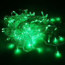 10M/20M 100/ 200 LED Bulbs Xmas Fairy Party String Decor Lights Lamps Waterproof