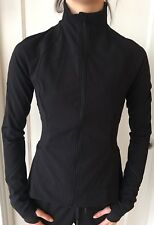 Lululemon Size 4 Gait Keeper Jacket Black BLK Define Yoga Run Water Resist NWT