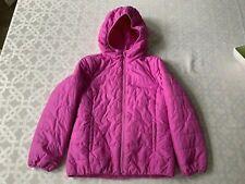 Girls' Gap pink hooded puffer jacket (size Xl 12)