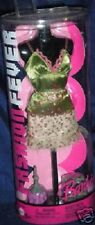 Fashion Fever Barbie Green satin top and skirt outfit nrfb