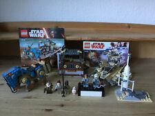 LEGO StarWars Encounter on Jakku (75148) + Sandspeeder (75204) - Topzustand