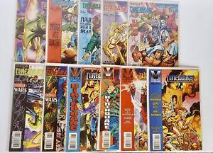 LOT Valiant Comics Timewalker 1 2 3 4 5 6 7 8 9 10 11 Harbinger Wars Full SET VF