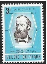 Belgium**PROF KEKULE-INVENTOR BENZENE RING-Chemistry-1966-CHIMIE-scheikunde