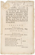 1777 Imprint: Miscarriage of the Expedition against the Enemy on Rhode-Island