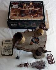 EWOK VILLAGE - VINTAGE STAR WARS KENNER ACTION PLAYSET - ORIGINAL BOX + SHEET