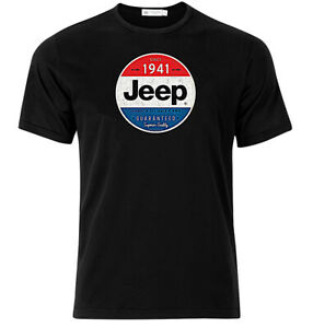Jeep Guaranteed - Graphic Cotton T Shirt Short & Long Sleeve