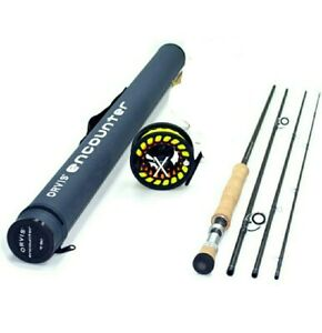 Orvis Encounter 906-4 4 Ounce 6-Weight Line 9' Fly Rod Outfit Right Handed