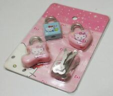 Hello Kitty 3 Pcs Luggage Padlock Key Lock