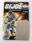 G.I. Joe Card Back ICEBERG SNOW TROOPER 1985