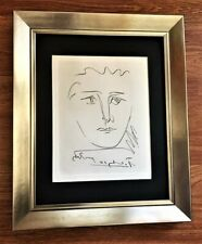 "Pablo Picasso ""POUR ROBY"" Original Signed Etching (1950's) With Embosed Seal COA"