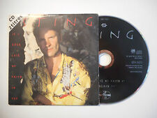 STING : IF I EVER LOSE MY FAITH IN YOU ♦ CD SINGLE PORT GRATUIT ♦