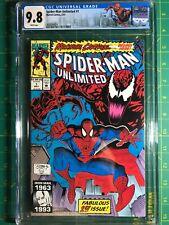 Spider-Man Unlimited #1 CGC 9.8 1st appearance Shriek Custom Label Venom 1993