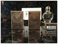 3 X Versace Eros Pour Femme Women Mini Bottle 0.17 OZ 5 ML EDP Splash NIB