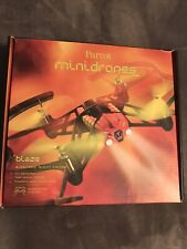 Parrot Airborne Night Blaze Minidrone Never Used, Perfect Working Condition Red
