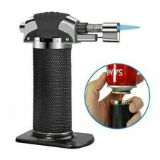Micro Butane Gas Blow Lighter Torch Welding Refillable Cooking BBQ Tools Outdoor