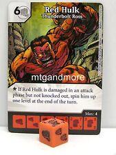 Marvel Dice Masters - 3x #052 red Hulk le canardeur ross-the uncanny x-Men